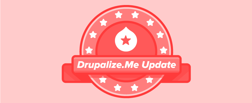 Drupalize.Me update