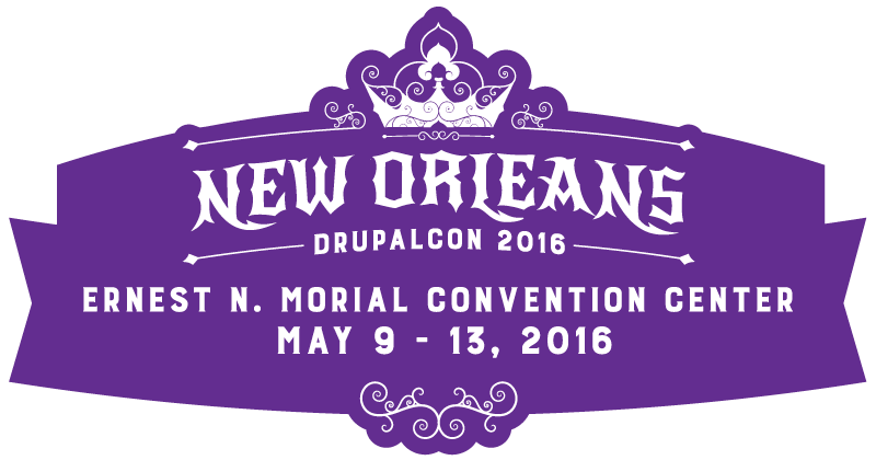 DrupalCon in New Orleans, Louisiana, May 9-13, 2016
