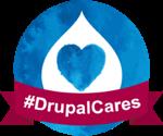 #DrupalCares logo
