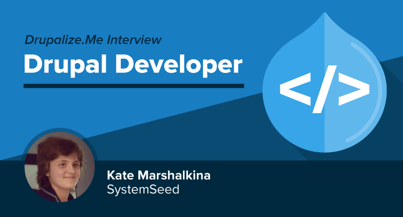 Meet Drupal Developer Kate Marshalkina