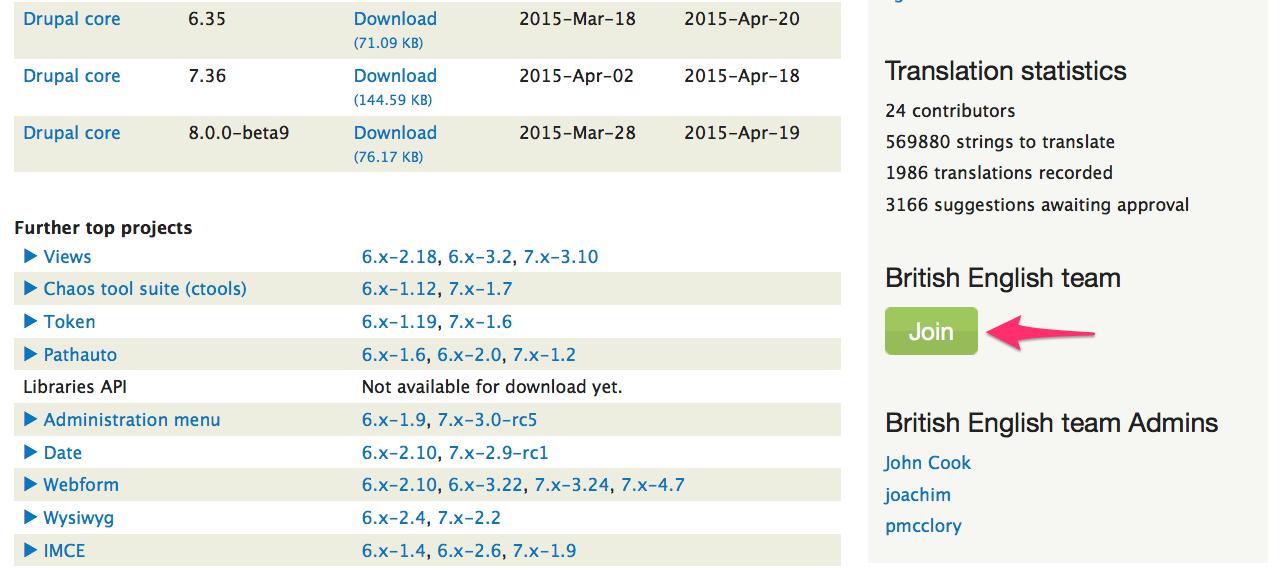 English British Translation Group Page