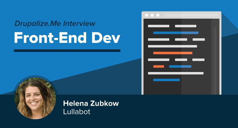 Meet Front-End Dev Helena Zubkow