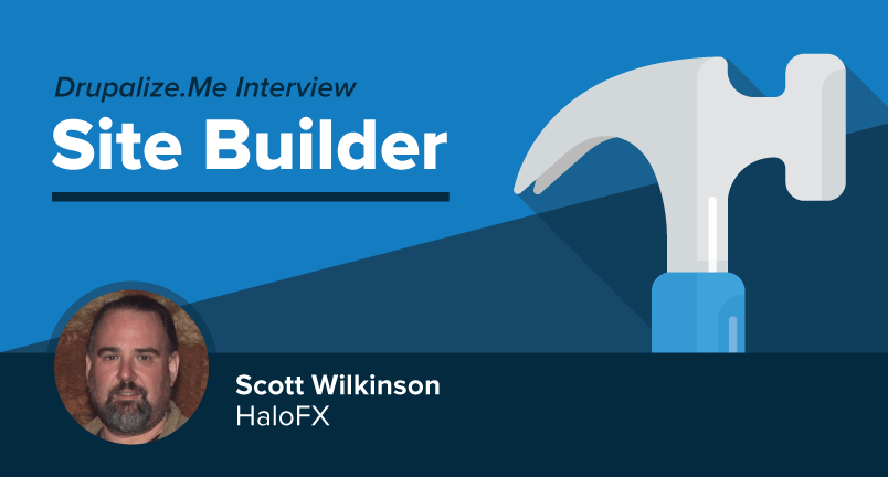 Meet Site Builder Scott Wilkinson