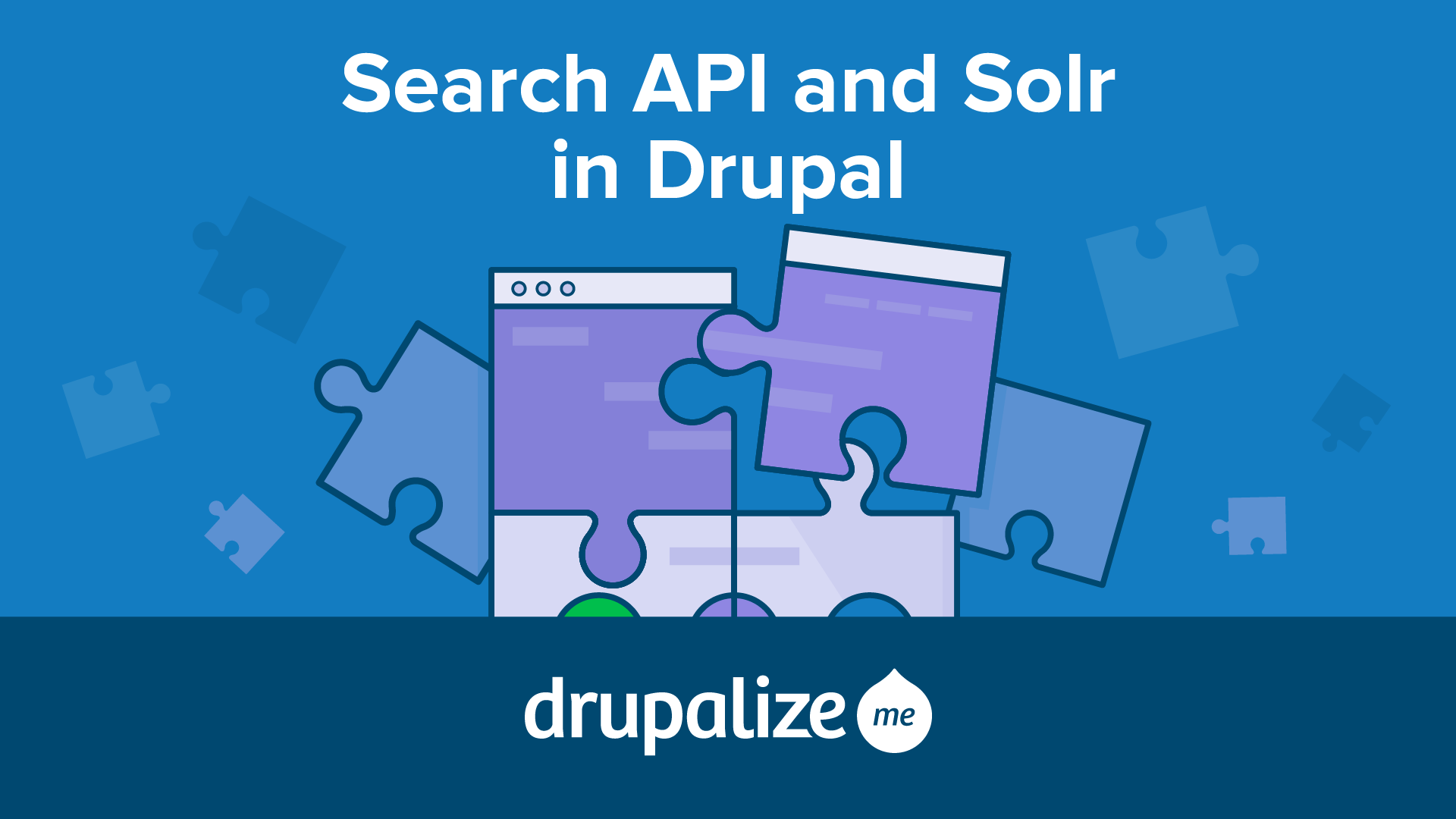 Search API and Solr in Drupal