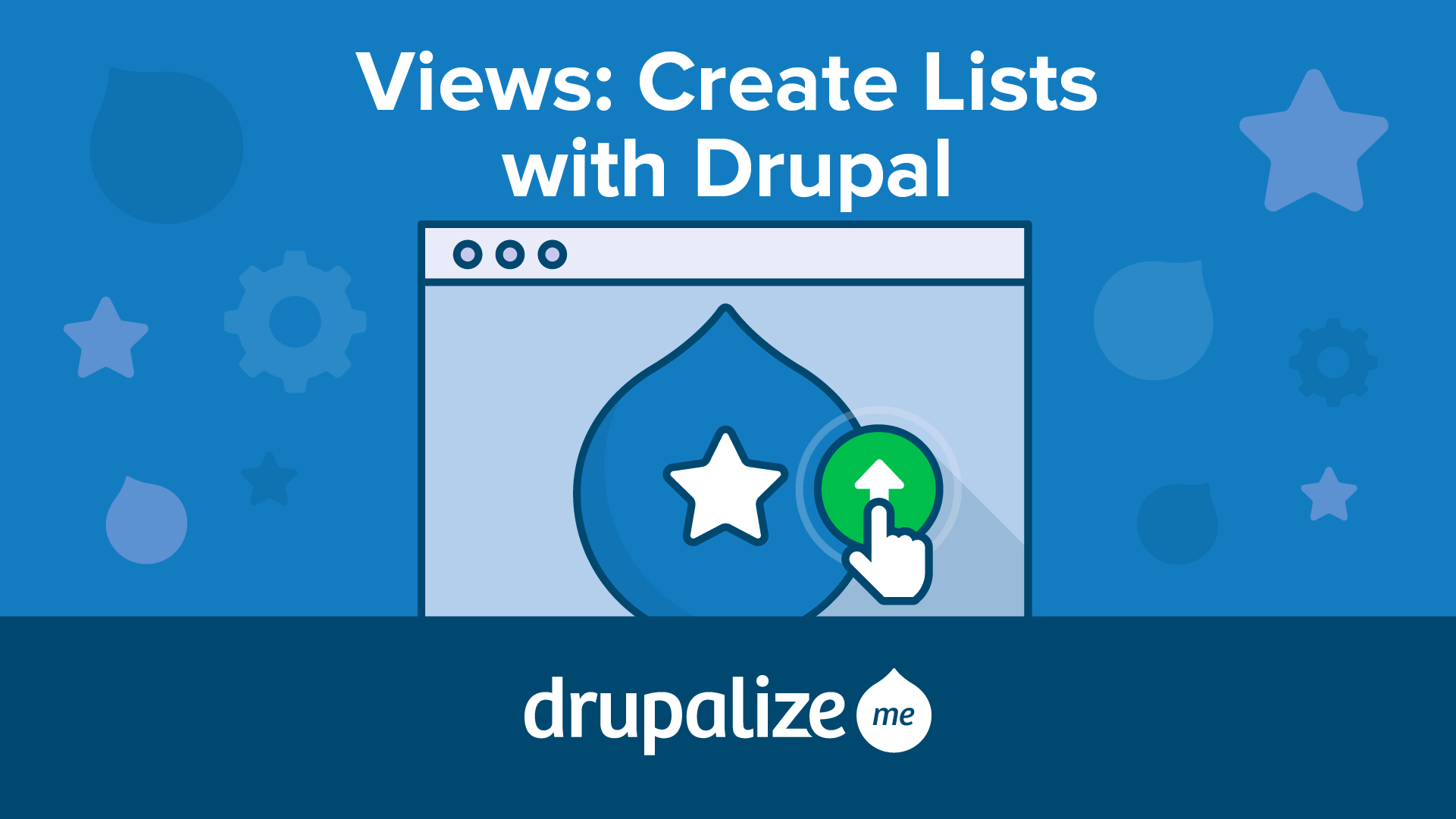 Views: Create Lists with Drupal