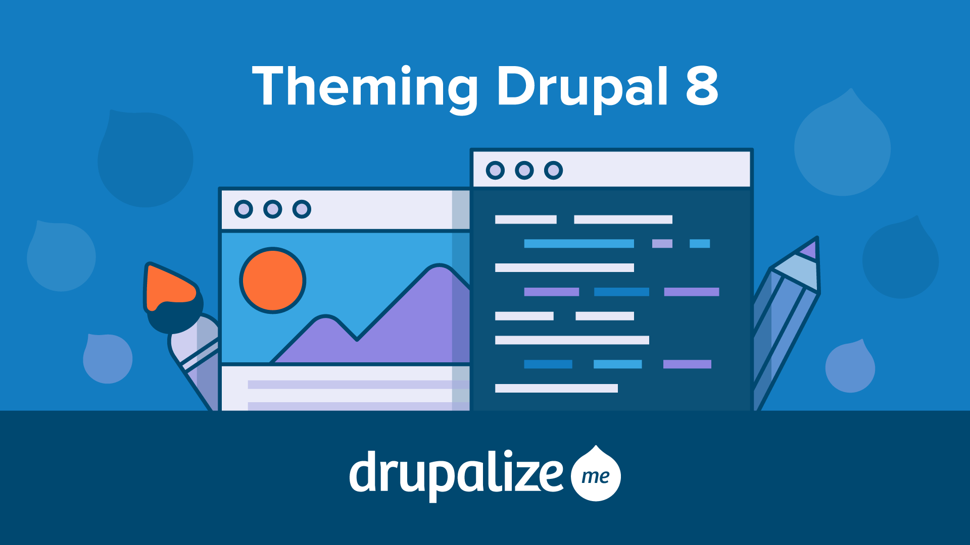 Release day our drupal 8 theming guide drupalize pronofoot35fo Choice Image