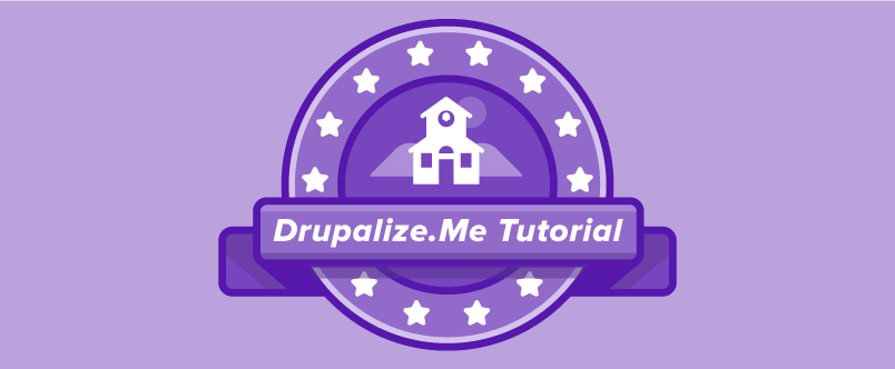 Drupalize.Me Tutorial