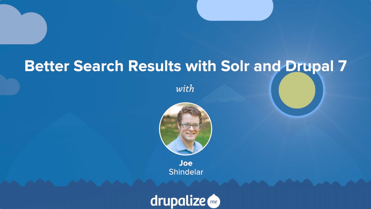 Improve Drupal's Search with Apache Solr and Search API