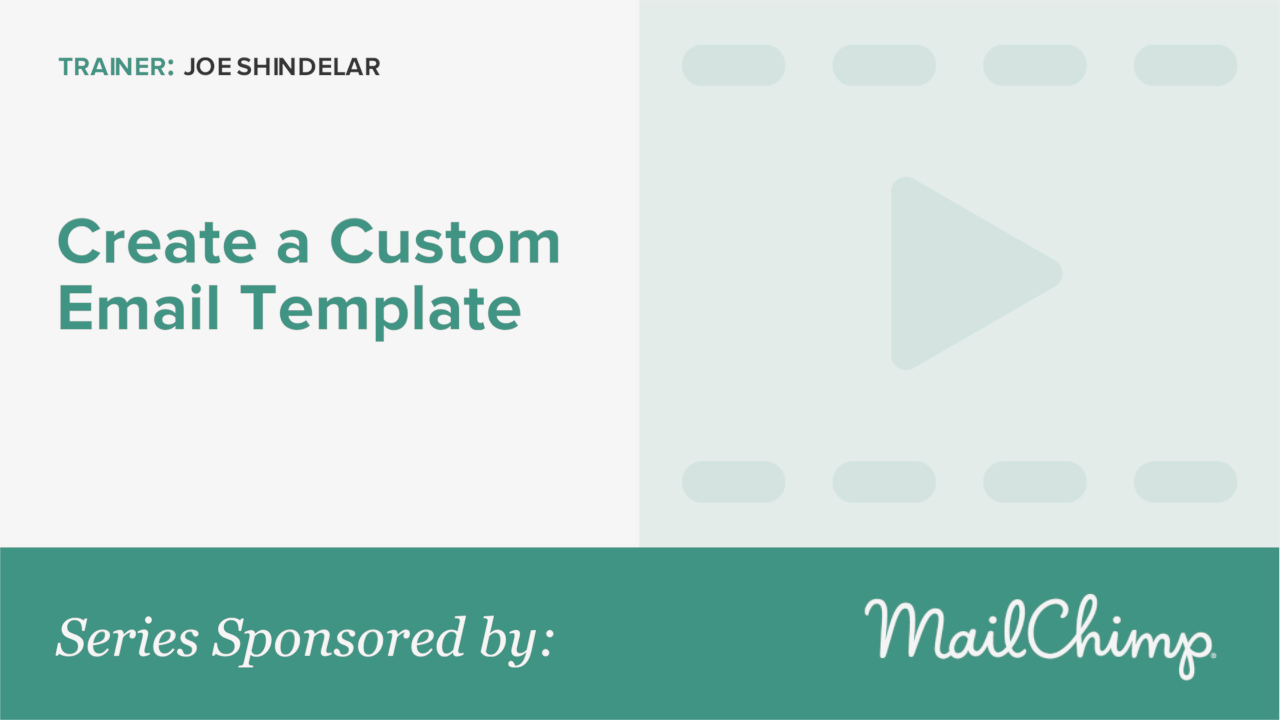 how to make a custom email template